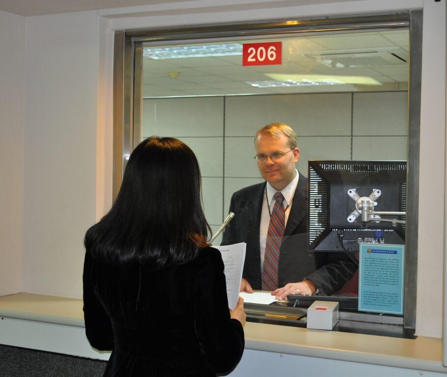 ראיון בשגרירות